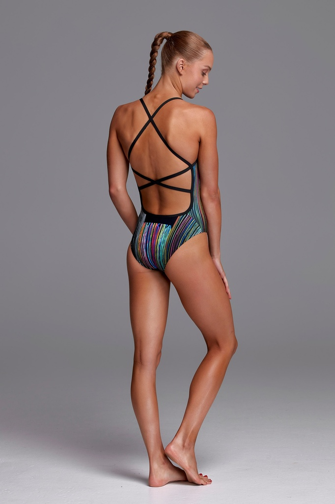 Badeanzug Funkita Girls Strapped in One Piece / Drip Funk