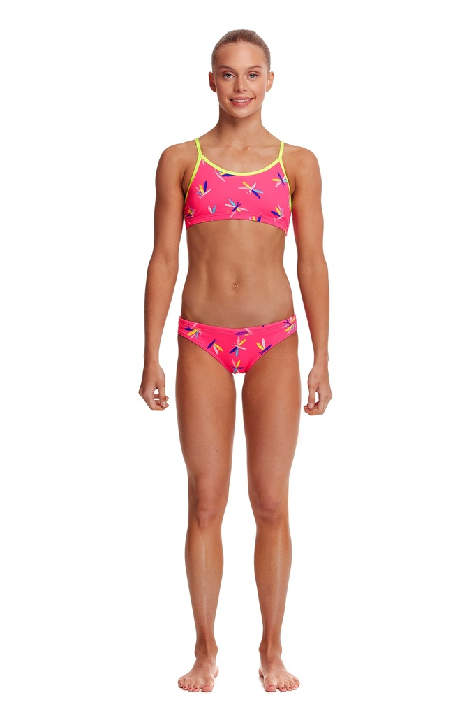 Bikini Funkita Girls Racerback Two Piece / Fly Dragon