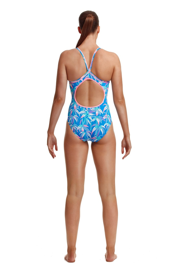 Badeanzug Funkita Ladies Diamond Back One Piece / Boobam Blue