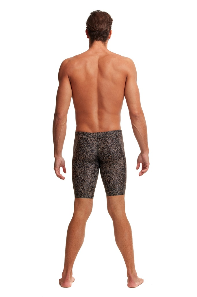 Badehose Funky Trunks Training Jammer / Leather Skin