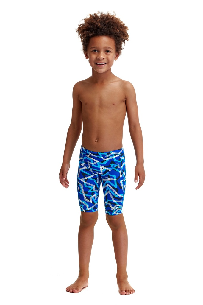 Badehose Funky Trunks Jungs Miniman Jammer / Ticker Tape