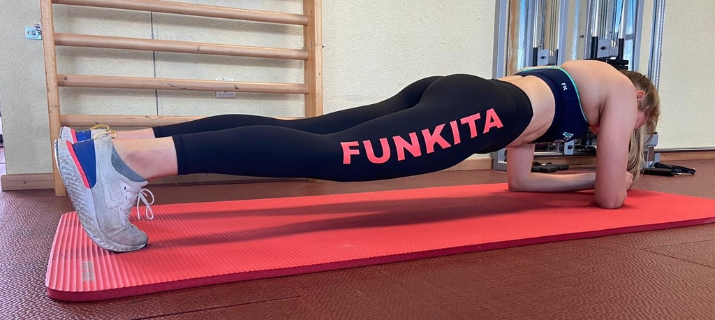 Funkita Fit Tight Free Runner Stamped Candy / Leggings