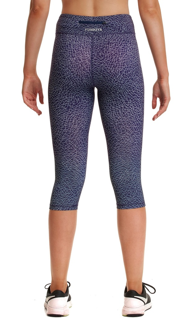 Sport Leggings Funkita Fit Rapid Racer Tight / Leather Luxe