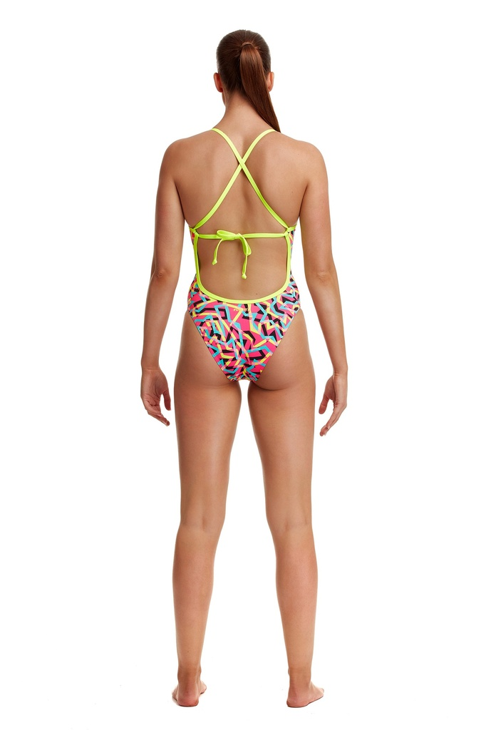 Badeanzug Funkita Ladies Tie Me Tight one Piece / Party Popper