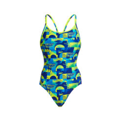 Badeanzug Funkita Ladies Diamond Back One Piece / Magnum Pi