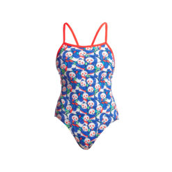 Badeanzug Funkita Ladies ECO Single Strap One Piece / Pandamania