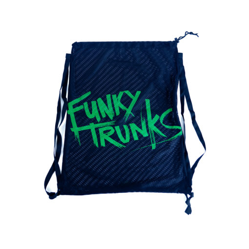 Mesh Gear Bag Funky Trunks / Still Black