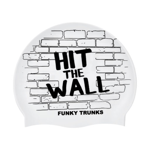 Badekappe Funky Trunks Silicon Cap / Hit The Wall