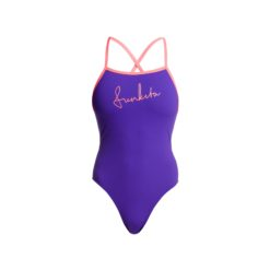 Badeanzug Funkita Ladies Tie Me Tight One Piece / Purple Punch