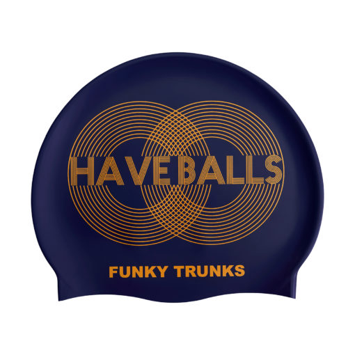 Badekappe Funky Trunks Silicone Cap / Golden Balls