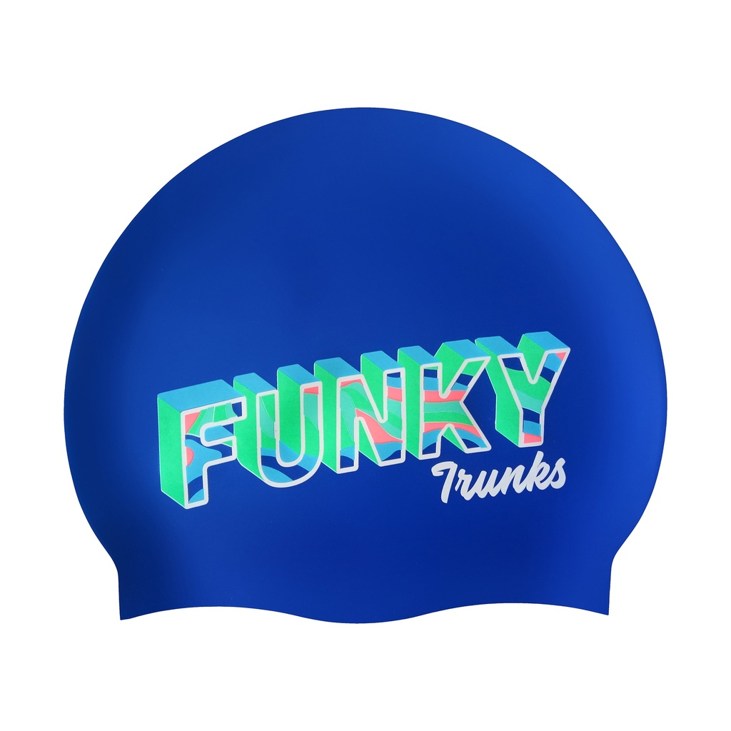 Badekappe Funky Trunks Silicon Cap / Beach Bum
