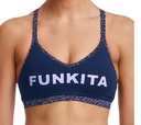 Funkita Fit Bondage Crop Leather Luxe / sports bra