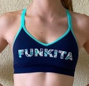 Sport BH Funkita Fit Top Bondage Crop Ladies / Bit Vane