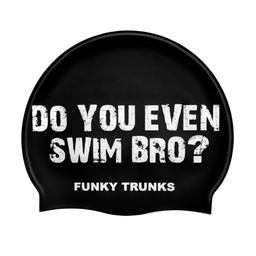 [FT9901923] Badekappe Funky Trunks Silicon Cap / Swim Bro?