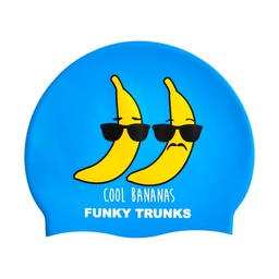 [FT9902098] Badekappe Funky Trunks Silicon Cap / Cool Bananas