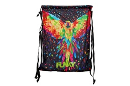 [FYG010N02569] Mesh Gear Bag Funky Trunks / King Parrot
