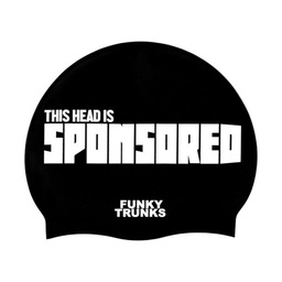 [FT9901818] Funky Trunks Silicon Cap Sponsored Head / Badekappe