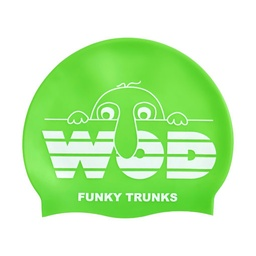 [FT9902099] Funky Trunks Accessories Silicon Cap Wod Badekappe