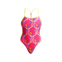Badeanzug Funkita Ladies Twisted One Piece / Sweet Skulls