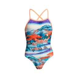 Badeanzug Funkita Girls Strapped In One Piece / Misty Mountain