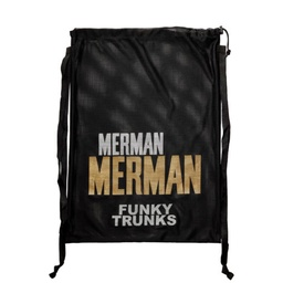[FTG010A02229] Mesh Gear Bag Funky Trunks / Golden Merman