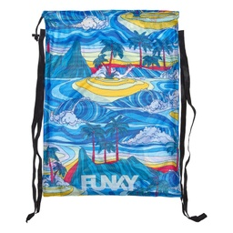 [FYG010N02675] Mesh Gear Bag Funky Trunks / Summer Bay