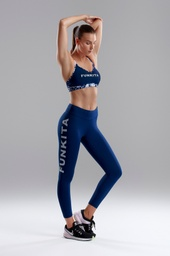 Sport Leggings Funkita Fit Hi Runner Tight / Stampd Navy